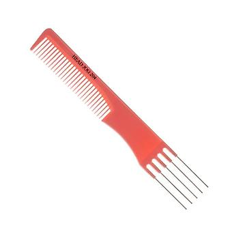 Headjog HeadJog Metal Pin Comb 204 Pink