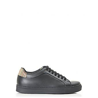 Paul Smith Basso Multi Stripe Leder Trainer