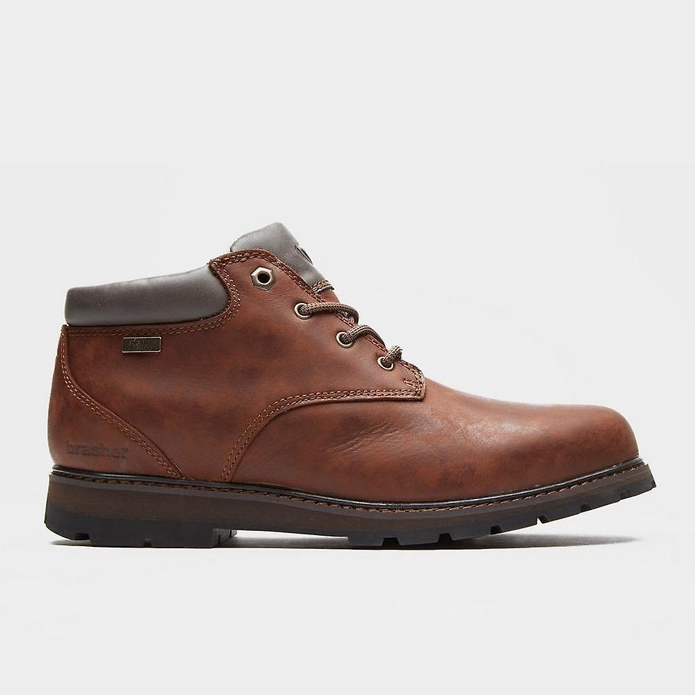 Brown Walking Brasher Men's Country Traveller Walking Brown Shoe b30cbb