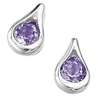925 Silver Earring Methyst
