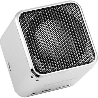 Bluetooth speaker Technaxx MusicMan® Mini Wireless Soundstation BT-X2 Silver