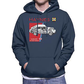 Haynes Owners Workshop Manual 0084 Volkswagen 1600 Fastback Men's Hooded Sweatshirt