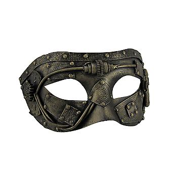 Metallic Steampunk Gladiator Eye Mask