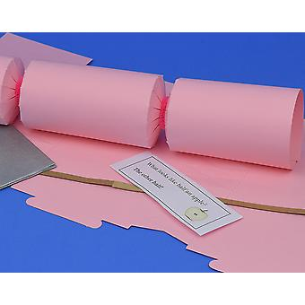 Single Jumbo Flamingo Pink Make & Fill Your Own Cracker Making Craft Kit
