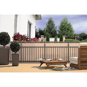 Balcony privacy balcony cladding cream 24 m cord dimensions: 6 x 0.9 m polyester