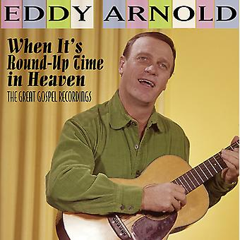 Arnold*Eddy - When It's Round-Up Time in Heaven - the Great [CD] USA import