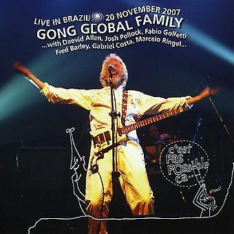Gong globale familie - Live i Brasilien 2007 [CD] USA import