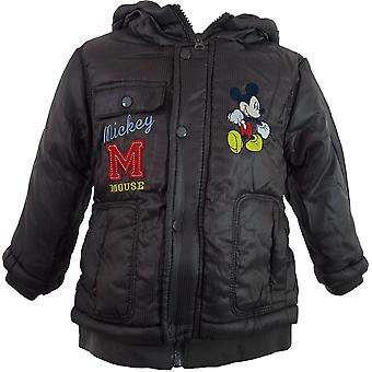 Boys Disney Mickey Mouse Baby Winter Hooded Parka