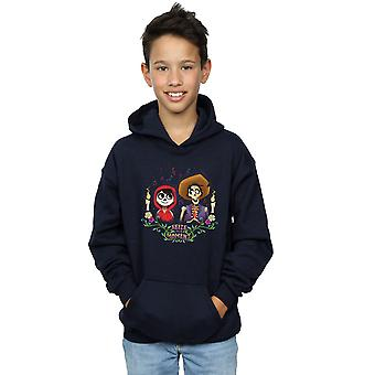 Disney Boys Coco Miguel And Hector Hoodie