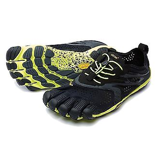 Vibram V-RUN Herre sko sort/gul
