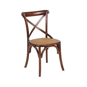 Wellindal Wooden Backrest Chair