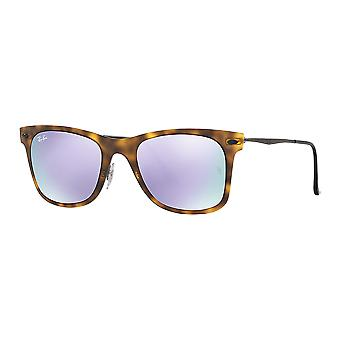 Ray - Ban Wayfarer Ray Light, tortoiseshell mast mirrored Lila