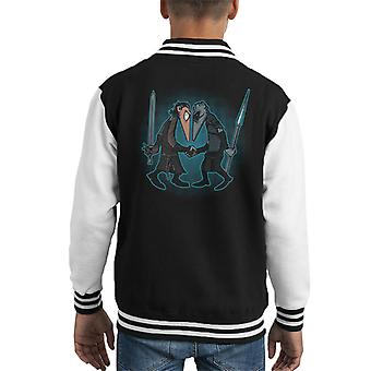 Wolf Vs Winter Game Of Thrones Spy Vs Spy Kid's Varsity Jacket