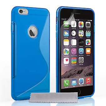 Caseflex Iphone 6 Plus And 6s Plus Silicone Gel S-Line Case - Blue