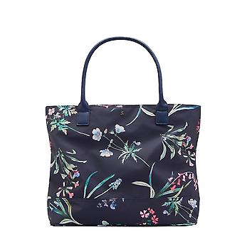 Joules Cariwell - Navy Botanical Print (Textile)