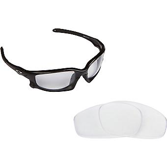 Split Jacket Replacement Lenses Crystal Clear by SEEK fits OAKLEY Sunglasses