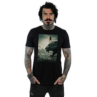 Marvel Men's Black Panther Poster T-Shirt