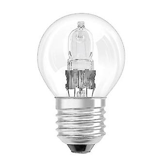 Eco halogen OSRAM 230 V E27 18 W Warm white EEC: D Pear shape dimmable 1 pc(s)