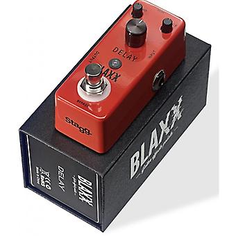 Stagg Blaxx Delay Electric Guitar Effect Pedal