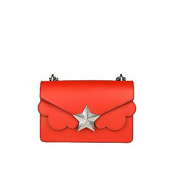 Les jeunes ETOILES ladies V01SM01FO1N red leather shoulder bag