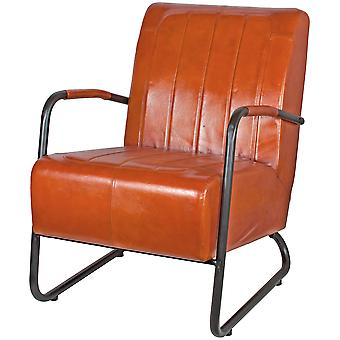 Decoración Vintage Leather visitor armchair (Furniture , Living Room , Armchair)