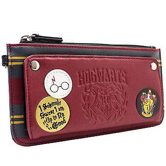 Harry Potter Gryffindor Hogwarts Coin & Card Clutch Purse