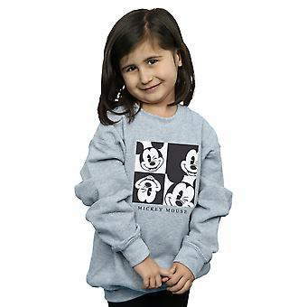 Disney Girls Mickey Mouse Wink Sweatshirt