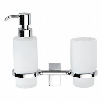 Eletech Tumbler and Soap Dispenser 114047