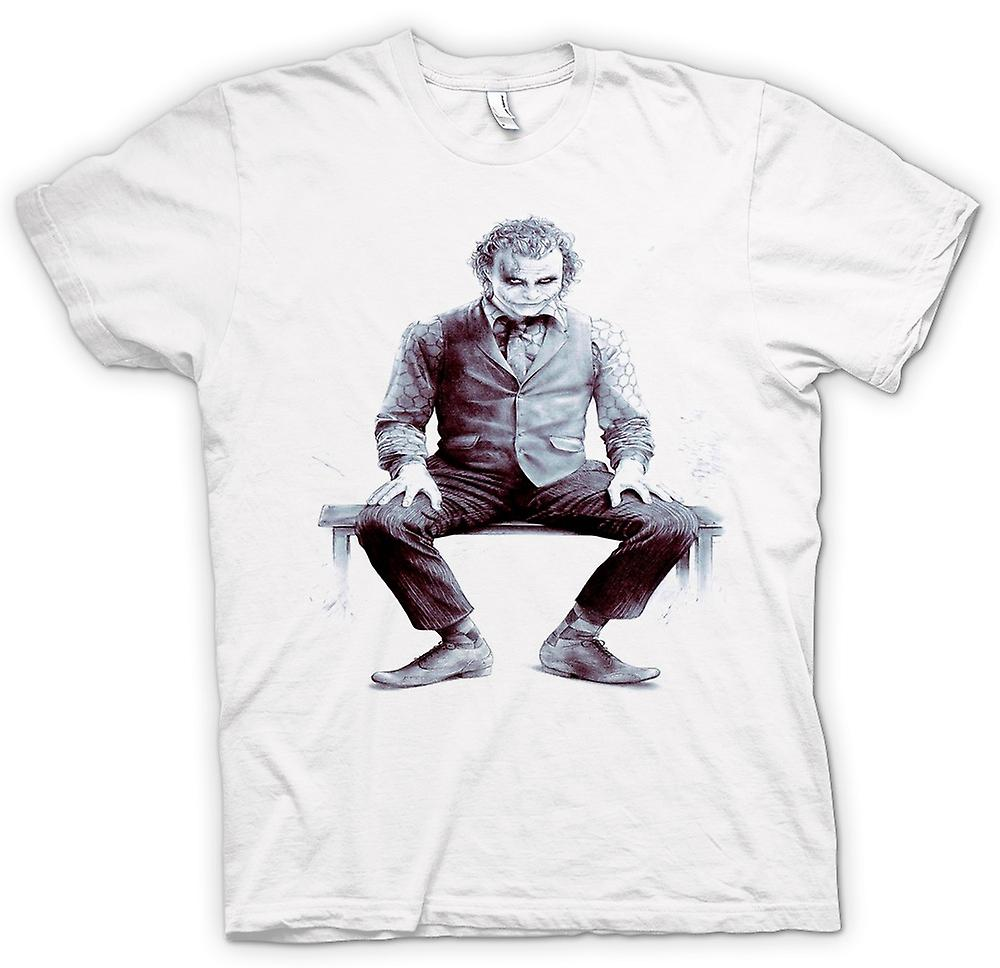 T-shirt des hommes - Joker Sitting - Batman