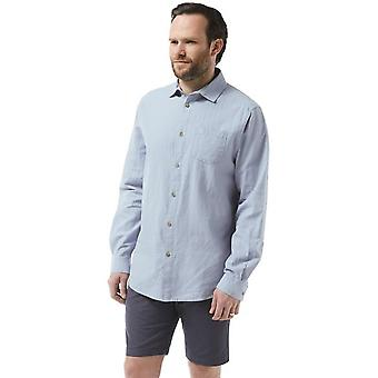 Craghoppers Mens Porter Long Sleeve Wicking Summer Linen Shirt