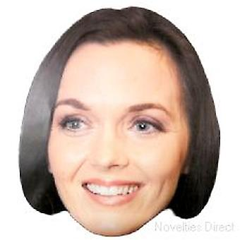 Victoria Pendleton Smiley Face Mask