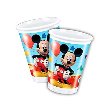 Beaker mug Cup Mickey Mickey party birthday 200 ml 8pcs