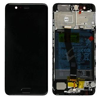 Huawei display LCD unit + frame for P10 Service Pack 02351DGP black new