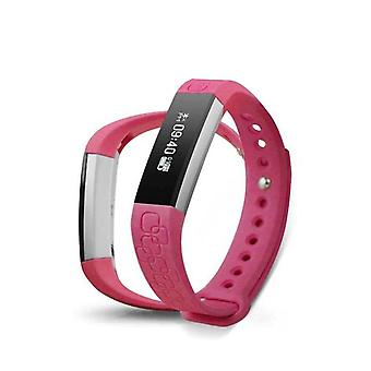 DayFit 2.0 Activity arm band for iOS and Android Pink