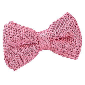 Aardbei Roze gebreid vooraf gebonden strikje voor jongens