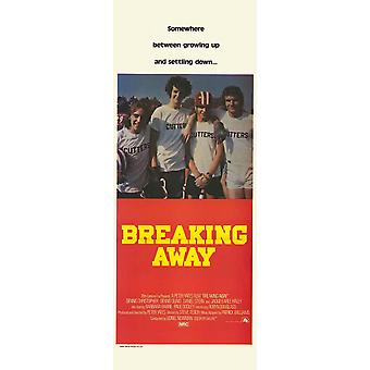 Breaking Away Movie Poster (14 x 36)
