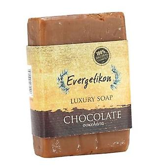 100% natural,high quality,Cretan extra virgin olive oil Chocolate soap 130gr.