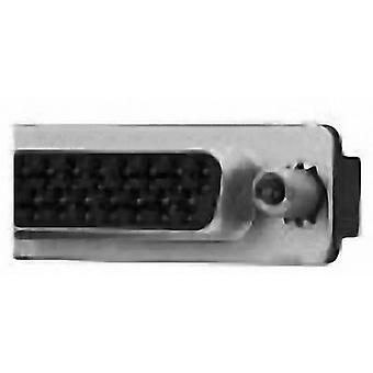 TE Connectivity AMPLIMITE HD-20 D-SUB receptacles 180 ° Number of pins: 9 Print 1 pc(s)