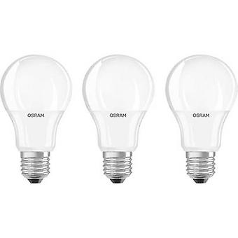 OSRAM LED E27 Arbitrary 9 W = 60 W Warm white (Ø x L) 60 mm x 110 mm EEC: A+ 3 pc(s)