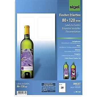 Sigel DE160 80 x 120 mm Paper White