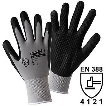 L+D worky NITRIL GRID 1167 Nylon Protective glove Size (gloves): 8, M EN 388 CAT II 1 pair