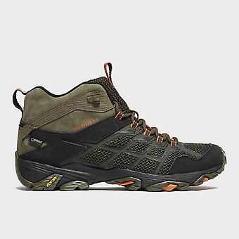 New Merrell Men's Moab FST 2 GORE-TEX® Shoes Olive