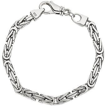 Mousqueton de bracelet argent 21 cm bracelet roi 925 sterling silver