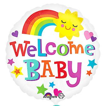 Anagram Baby Boy/Girl 18 Inch Welcome Baby Foil Balloon