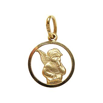 Yellow Gold Angel pendant