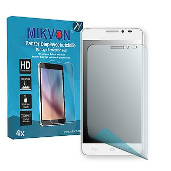 Alcatel One Touch Idol X+ Screen Protector - Mikvon Armor Screen Protector (Retail Package with accessories)
