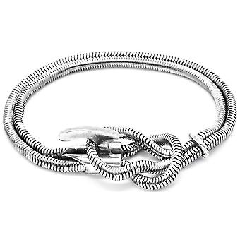 Anchor and Crew Padstow Silver Chain Bracelet - Silver