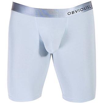 Obviously PrimeMan AnatoMAX Boxer Brief 9inch Leg - Ice Silver