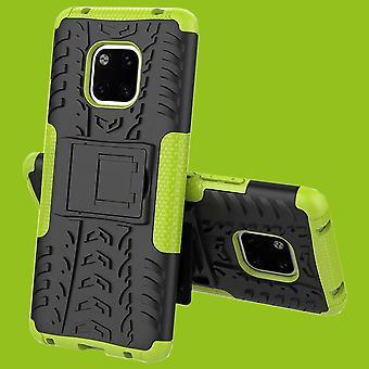 For Huawei kompis 20 Pro hybrid tilfelle 2 stykke Koczian utendørs grønne vesken coveret beskyttelse