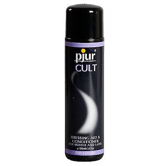 Pjur Cult Women's &Men's Lubricant Dressing Aid for Latex &Rubber Clothing